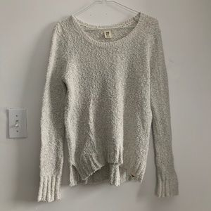 Women's soft high/low sweater